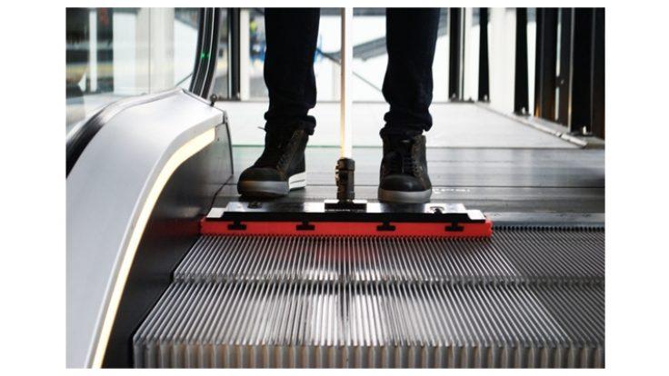 Formula Escatem Manuel Yürüyen Merdiven Temizleme Sistemleri